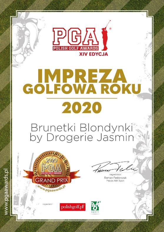 golfowa impreza roku